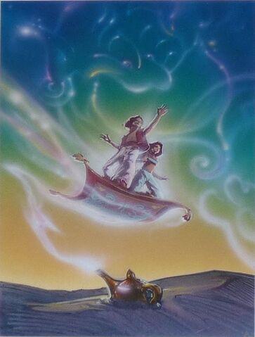 File:Disney's Aladdin - Unused Concept Poster Art by John Alvin - 13.jpg