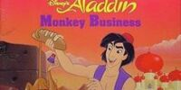 Disney's Aladdin: Monkey Business (Golden Look-Look Book)