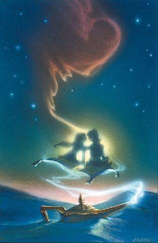 File:Disney's Aladdin - Unused Concept Poster Art by John Alvin - 3.jpg