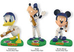 Donald goofy & mickey baseball players