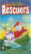 The Rescuers UK VHS