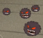 Hairball Monsters