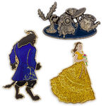 Beauty and the Beast Limited Edition Pin Set