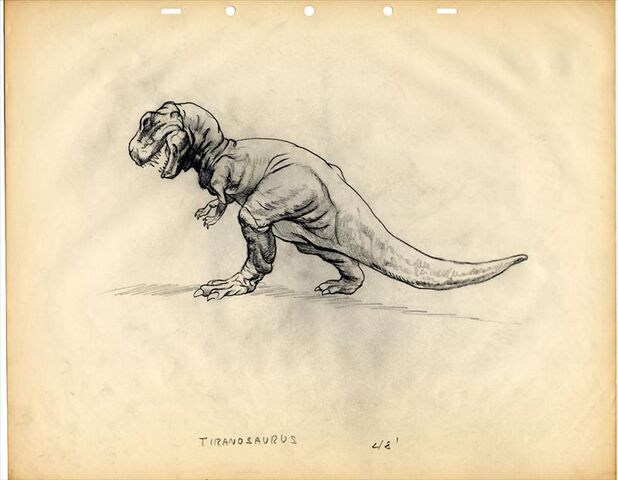 File:Disney FANTASIA Animation Model Drawing TYRANNOSAURUS.jpg