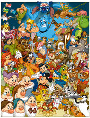 Disney group shot by James Silvani