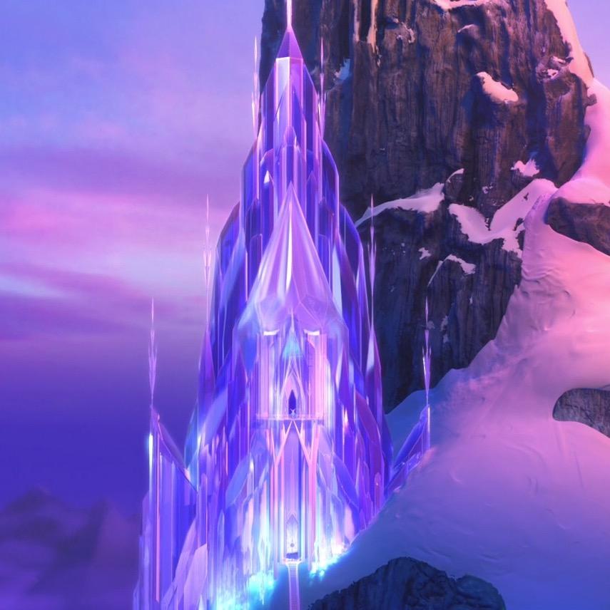 Frozen coloring pages elsa ice castle - Elsa S Ice Palace
