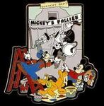 Mickeys follies scenery pin