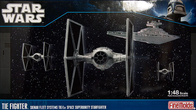 File:TIE Fighter model kit.jpg