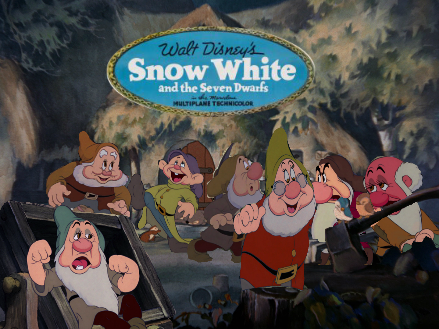 Image snow white and the seven dwarfs re poster dwarves png disney wiki fandom powered by wikia