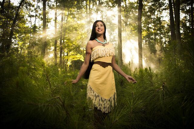 File:Pocahontas Disney Parks Blog Princess Photo Series.jpg
