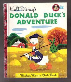 Donald ducks adventure