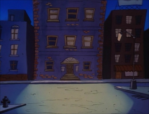 File:Goof Troop - Spoonerville - Downtown at Night from For Pete's Sake - 1.jpg