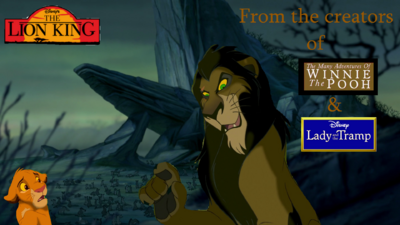 Lion King Scar Re Poster