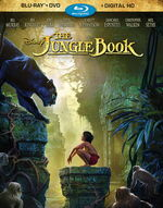 The Jungle Book 2016 Blu-Ray