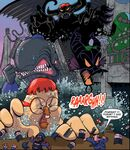Huey, Dewey and Louie monsters