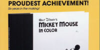 Mickey Mouse in Color