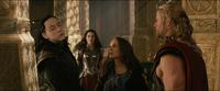 Thor The Dark World Jane punches Loki