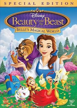 Beauty and the Beast Belle's Magical World 2011 DVD