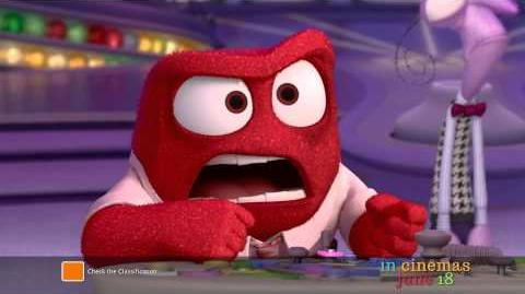 "Inside Out - Australian TV Spot ""Meet Anger"""
