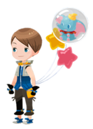 Dumbo Accessory Kingdom Hearts χ