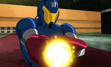 Harry Osborn in American Son Armor