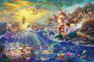 Kinkade-2012-lg-little-mermaid-disney-art