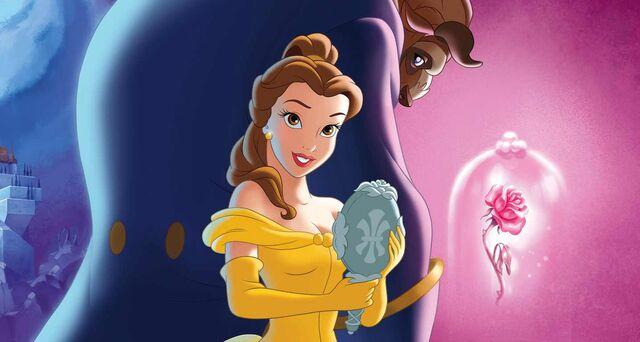 File:Belle and the Beast Wallpaper 2.jpg
