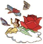 DLR - 45th Anniversary Parade of Stars (Belle Float) 4 Pin Set