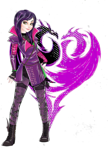 File:Descendants 2D Characters - Mal.png