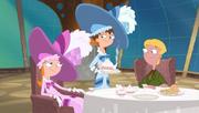 Eliza and Candace at Tea