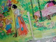 Snow White 1972 Whitman Paper Dolls