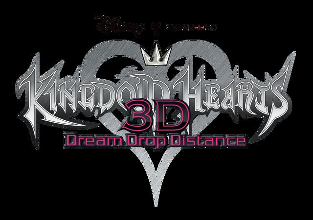 File:Kingdom Hearts Dream Drop Distance Logo KH3D.png