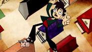 Ninjafan - Randall falling