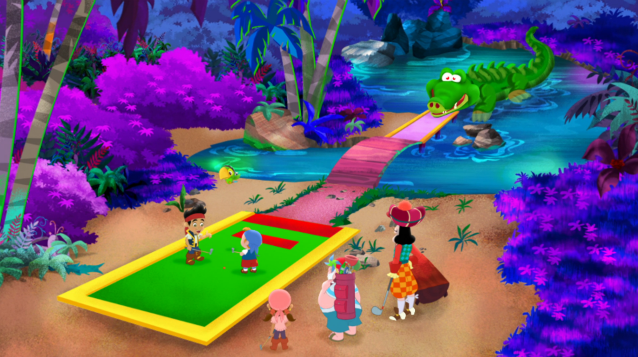 File:Pirate Putt-Putt CourseHole one.png