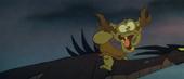 Creeper on dragon