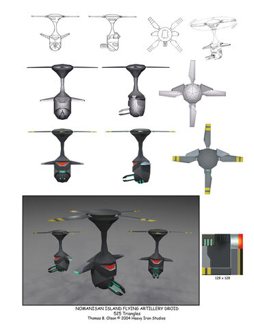 File:Incredibles Game Concept - Flying Artillery Droid.jpg