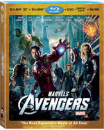 The Avengers 3D Cover