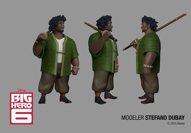 File:Wasabi character model .jpg