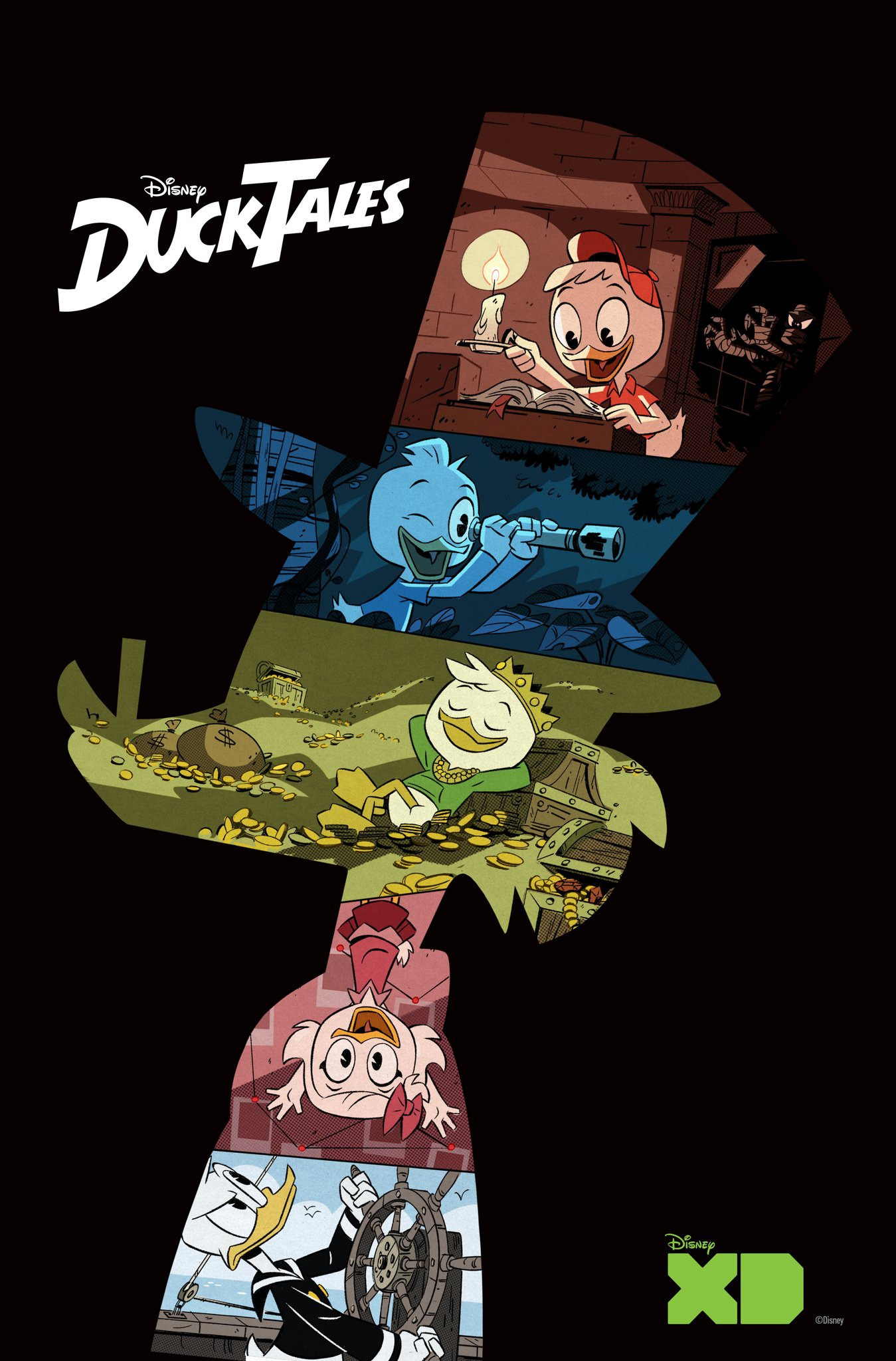Image Ducktales 2017 Poster Png Disney Wiki Fandom