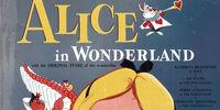 Walt Disney's Alice in Wonderland (Little Nipper Giant Storybook Record Album with the Original Stars of the Wonderfilm)