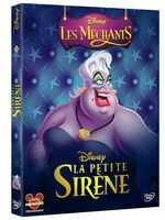 Disney Mechants DVD 10 - La Petite Sirene