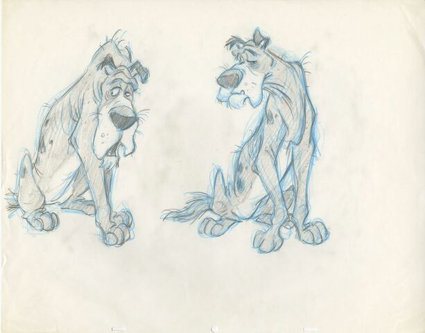 File:Oliver and Company - Early Concept of Einstein by Andreas Deja.jpg