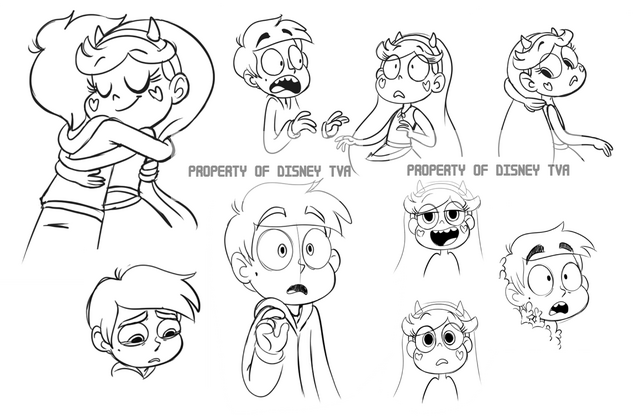 File:Star and Marco Sketches.png