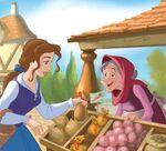 Belle in the market