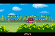 Disney's Magical Quest 2 Starring Mickey and Minnie Ending 26