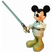 Mickey Luke Lightsaber