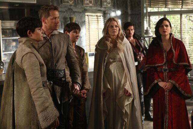 File:Once Upon a Time - 5x05 - Dreamcatcher - Publicity Image - Snow, Charming, Emma, Henry, Hook, Regina 2.jpg