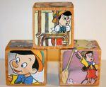 Pinocchio wooden blocks