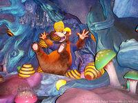 Hive in Brer Bear's Nose in Splash Mountain