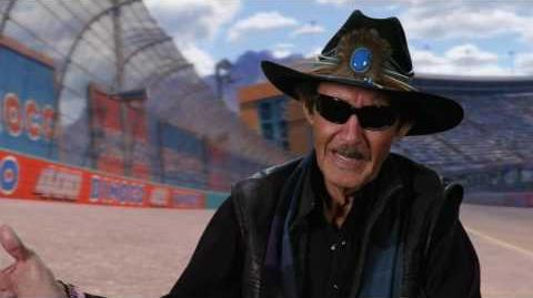 "Cars 3 ""The King"" Richard Petty Interview"